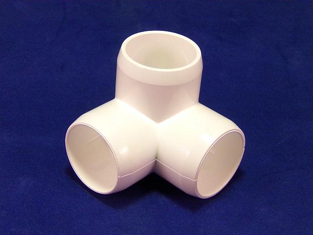 LOT5 Reducing Tee T Type Polypropylene Barb Plastic