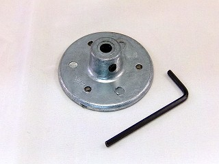 "Die Cast Hub 1/4"" Shaft"